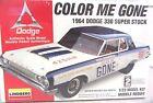 New Sealed Lindberg Color Me Gone 1964 Dodge 330 Super Stock 1/25 #72156