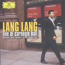 Lang Lang Live At Carnegie Hall - Lang Lang (2004, CD NEUF) Lang (PNO)2 DISC SET
