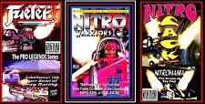 Drag Racing NITRO WARRIORS, CACK & FUELER, 3-Pck. Main Event Entertainment DVD