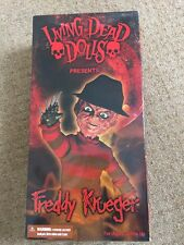 Living Dead Doll, Freddy Krueger, A Nightmare On Elm Street ,Brand New Mezco