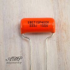 CONDENSATEUR SPRAGUE ORANGE DROP Capacitor 33nF .033uF