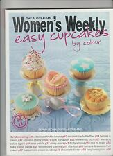 EASY CUPCAKES BY COLOUR the Australian Women's Weekly paperback 2009 like new