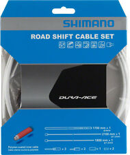 SHIMANO DURA-ACE SP41 POLYMER-COATED ROAD BIKE WHITE SHIFT CABLE KIT