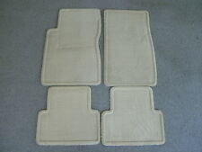 Cadillac CTS tan carpet floor mats 03-07