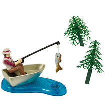 DecoPac Cake Topper Fisherman (with Action Fish) Kit