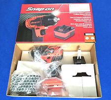 "Snap On 18v 3/8"" Monster Lithium Cordless IMPACT Wrench Ltd Edt Orange CTEU8810"