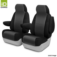 Neosupreme 1st and 2nd Row Black & Charcoal Custom Seat Covers by Coverking