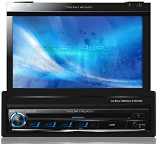 """7"""" Bildschirm AUTORADIO mit Bluetooth Navigation GPS DVD USB SD Touch MP3 1 DIN"""