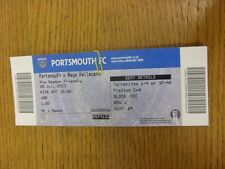 28/07/2013 Ticket: Portsmouth v Rayo Vallecano [Friendly] . Thanks for viewing t