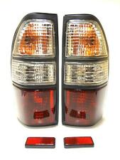 Toyota Land Cruiser HDJ 90/95 1995-2002 Rear Tail Signal Lights Lamp Set Crystal