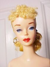 Vint. Barbie 1960 #4  BLOND  PONYTAIL/Accessories/M-NM