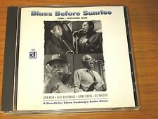 Blues Before Sunrise - Vol. 1-Live DELMARK CD - VARIOUS ARTISTS - USED / PERFECT