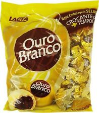 Ouro Branco Bonbon Covered with White Chocolate 2.20lb. (1kg)