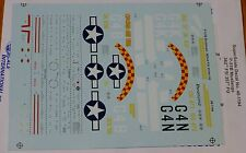 Microscale Decal 1:48 Scale #48-1194 / P-51B Mustangs: 362nd FS/ 357th FG