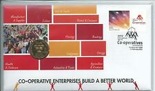 PNC 2012 Co-Operatives 1 x $1 Coin Cost $19.95 Ex PO 5998/15,000 As Issued