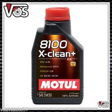 Motul 8100 X-CLEAN+ 5W30 C3 5 LITRI  Tagliando Olio Motore Auto VW 504.00 5
