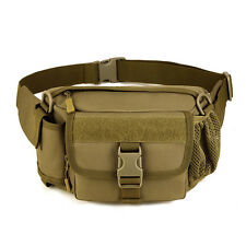 Men Nylon Outdoor Military Tactical  Messenger Shoulder Fanny Pack Waist bag