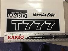 minibike mini bike decals wards sticker Terrain BIKE T777