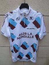 Maillot cycliste AG2R LA MONDIALE Tour de France 2010 shirt camiseta VERMARC L