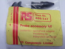 Oscilloscope Probe Accessory Kit  Spring hook ada, IC Tip, RS 488-747 # EH06