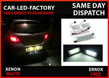 VAUXHALL ASTRA H VXR 2004-09 LED LIGHT REPLACEMENT NUMBER PLATE UNITS 7000K
