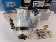 DONALDSON 12MM DIESEL WATER SEPERATOR KIT. INC FREE FUEL TREATMENT. P903316