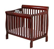NEW & SEALED! Dream On Me 3 in 1 Aden Convertible Mini Crib, Cherry