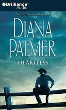 Heartless by Diana Palmer (2009, 4 CD, Abridged)