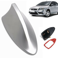 Universal Silver Shark Fin Style Auto Car Roof Radio AM/FM Signal Aerial Antenna