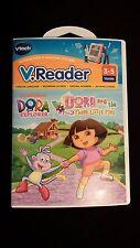 V.Reader Dora The Explorer Electronic Learning Game Software