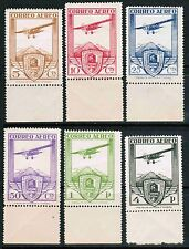 Spain Air Mail 1930 Sc#C12-17, Railway Congress Issue, MNH** Complete Set cp1