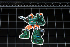 Transformers G1 Hoist box art vinyl decal sticker Autobot toy 1980's 80s