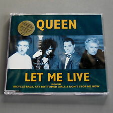 Queen Let Me Live Picture disc CD Single (New Case)