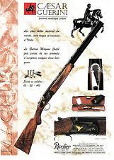 Advertising / Publicité de presse /  FUSIL GUERINI / GAMME MAGNUS JASPE  .  2003