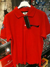 POLO SHIRT RED MV AGUSTA ORIGINALE OFFICIAL TAGLIE SIZES S-XXL