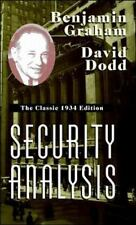 Security Analysis by Graham - The Classic 1934 Edition
