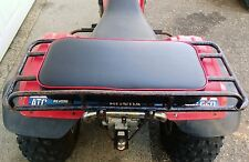 "24"" X 12"" RED REAR RACK SEAT PAD HONDA POLARIS KAWASAKI SUZUKI ARCTIC CAT ATV"