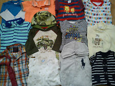 NICE BRANDS NEXT M&S MOTHERCARE 34x BUNDLE BABY BOY CLOTHES 0/3/6 MTHS (5.3)
