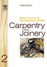 Carpentry and Joinery 2: v. 2 (Carpentry & Joinery), Acceptable, Porter, Brian,