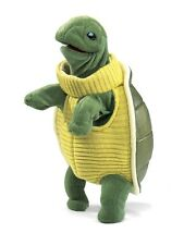Turtleneck Turtle Hand Puppet w/Moveable Mouth & Legs, Folkmanis MPN 2881