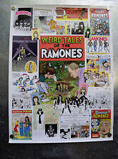Weird Tales Of The Ramones Comic Book Promo Poster 18 x 24