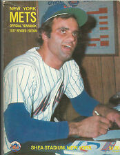 1977 NEW YORK METS YEARBOOK REVISED EDITION