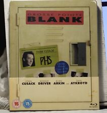 NEW GROSSE POINTE BLANK BLU-RAY STEELBOOK! UK ZAVVI VERSION+REGION FREE! SEALED