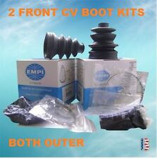 2 EMPI ATV CV Boot Kit FIT ARCTIC CAT 250 300 375 400 454 500 650 FRONT OUTER