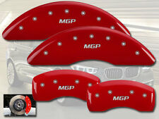 "2011-2016 BMW Z4 sDrive35is Front + Rear Red ""MGP"" Brake Disc Caliper Covers"
