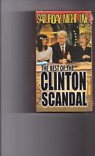 SATURDAY NIGHT LIVE THE BEST OF THE CLINTON SCANDAL VHS NEW/SEALED!