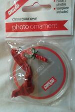 Create Your Own Photo Key Ring / Keychain-christmas candy cane Charm.bnip.