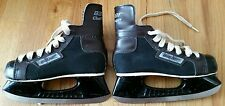VINTAGE BAUER Challenger Youth Hockey Skates 1970's Made in Canada