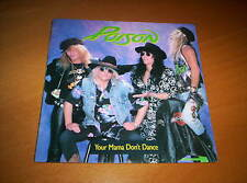 """POISON  """"YOUR MAMA DON'T DANCE""""   PICTURE COVER   7 inch  45 1988"""