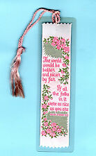 Woven Bookmark Christian Prayer Poem Special as you Xmas Gift Wife Mum Friend